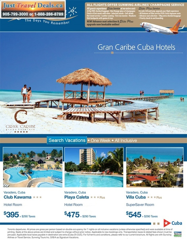 Gran Caribe Cuba Hotels Resorts All Inclusive Vacations Reservations Last Minute